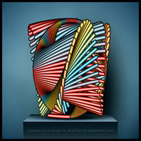 Vortex Sculpture by Direct2Brain