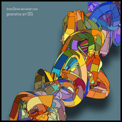 Generative Art 005 by Direct2Brain