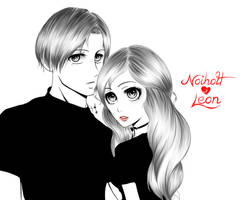 Noiholt  y Leon by CreationAndrea
