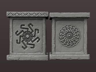 Dwarven support by Redecorator