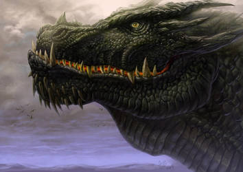 Outcast Odyssey - Dragon - Alpha by allengeneta