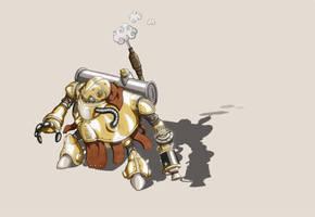 robo fan art by elf-x