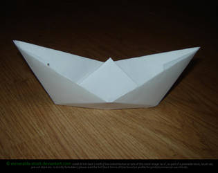 Paper Boat by Esmeralda-stock
