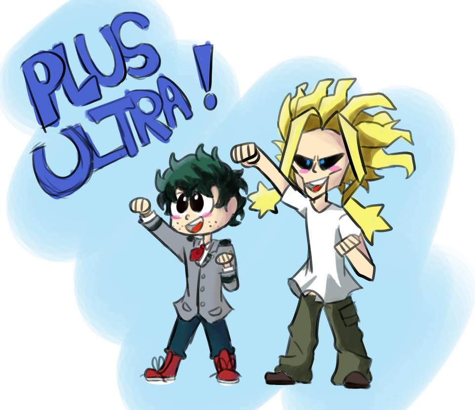 Plus Ultraaaa by RainiatheGegurl