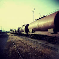 Runaway Train by slatkatajna