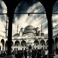 Blue Mosque by slatkatajna