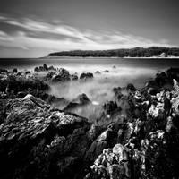 Rock in the sea by slatkatajna