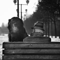 Man's best friend by slatkatajna