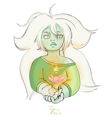 Mini Moss Agate by ToxieMoxie