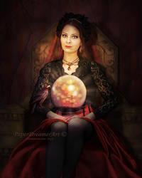 Madam Zoltar by PaperDreamerArt
