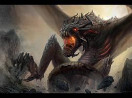 Dragon by Bogdan-MRK