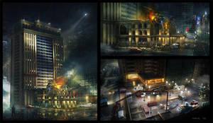 Under construction Hotel by Bogdan-MRK