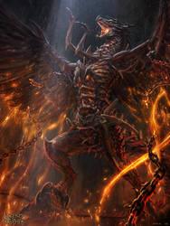 Zombie Dragon - basic version by Bogdan-MRK