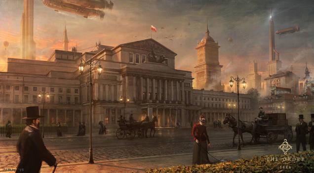 Warsaw by Bogdan-MRK