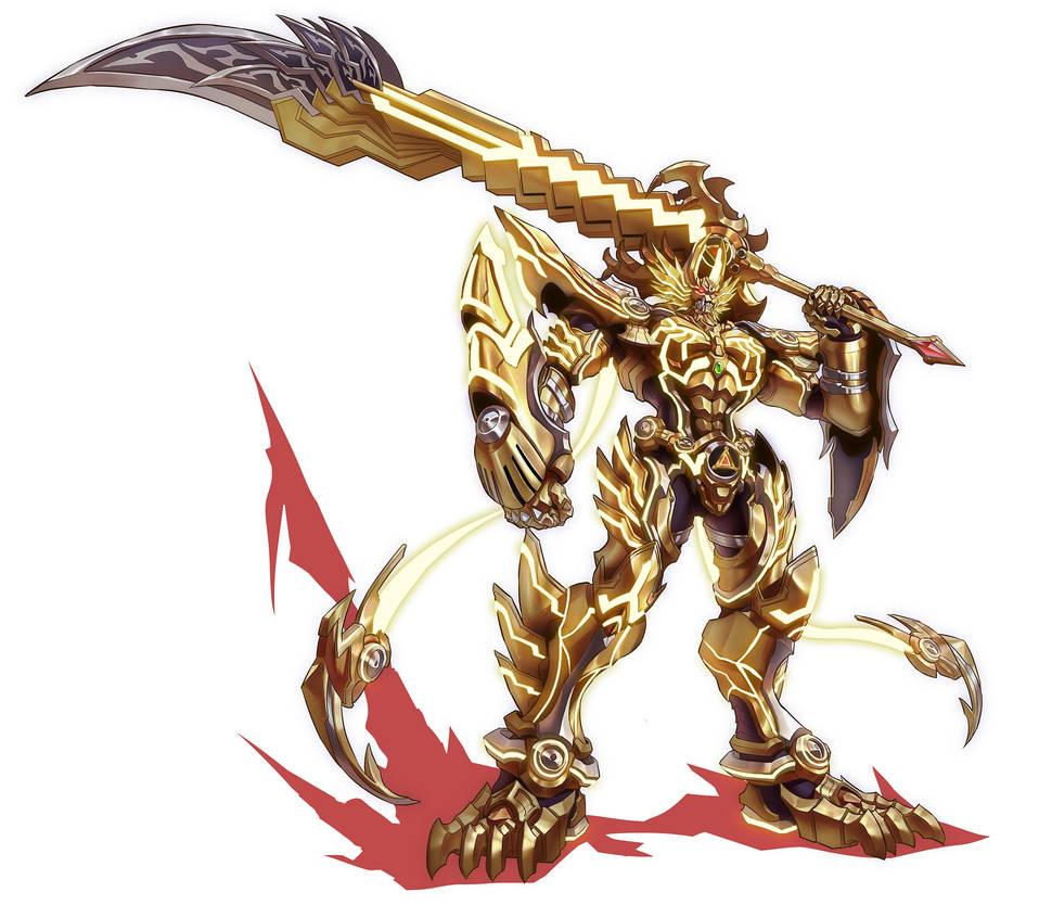 GOLDEN KNIGHT GARO (VANISHINGLINE) by gsd748