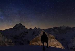 Contemplating the Universe by Arafinwearcamenel