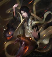 Black Tortoise zhi ming by BramastaAji
