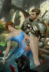 Xenja and Lothian by BramastaAji