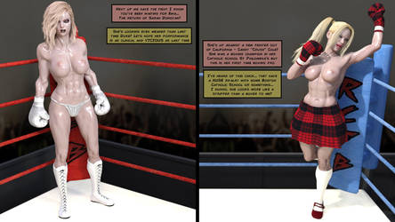RCFB fight time - Sarah Donovan vs Candy Cole by RoxErotique