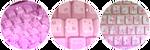 Pink Keyboard Divider by StarryWave
