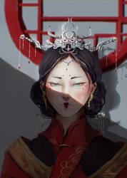 Red by Ruiwen-art