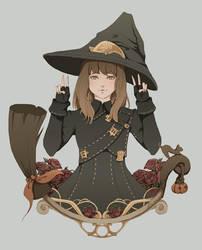 Witch by Ruiwen-art