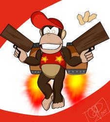 Super Smash Hype: Diddy Kong by SeminarComics