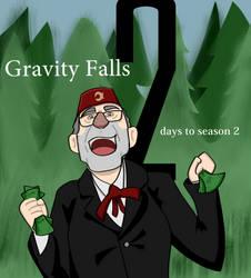 Gravity Falls! 2 Days to Go! by SeminarComics