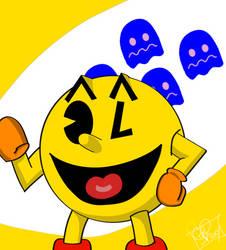 Super Smash Hype: Pac-Man by SeminarComics