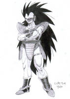 Raditz by Rubber-Band-Of-Doom