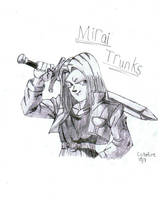 Mirai Trunks by Rubber-Band-Of-Doom