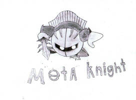 Metaknight by Rubber-Band-Of-Doom