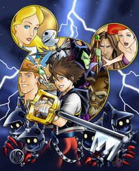 Kingdom Hearts by Jelli76