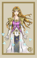 Princess Zelda by Jelli76