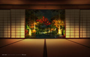 Yoritsuki wallpaper Night by HYBRIDWORKS