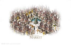 Christmas Market-Daytime by HYBRIDWORKS