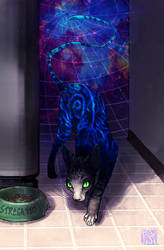 when you can't find the cat by Fedini
