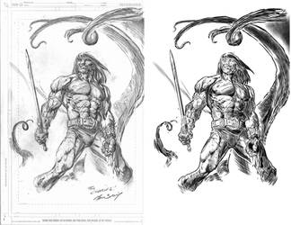 Conan Inks by RogerOtt