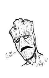 Groot Sketch by RogerOtt