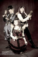 Steampunk Dolls by bryanhumphrey