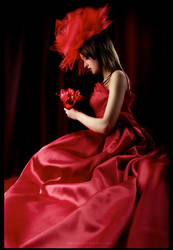 bride in red by PB-HASS