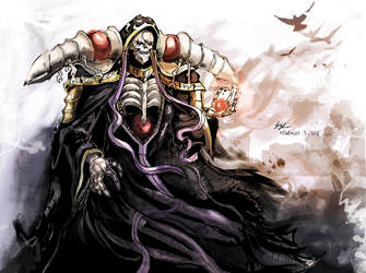 Ainz Ooal Gown by ScarecrowofQC