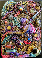 Artsy Polymer Clay Cover by RoyalKitness