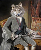 Count Greywolf of Transylvania  Copyright VL.2012 by sololupo