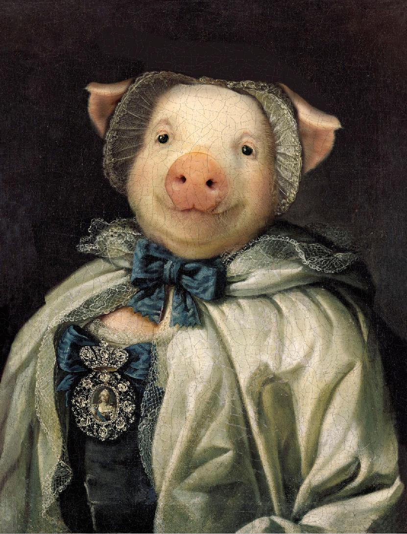 Madame de Porque  (Copyright V.Leonard 2012) by sololupo