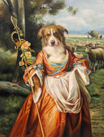 Shepherdess (Copyright V.Leonard 2012) by sololupo