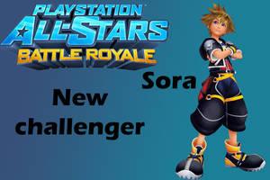 Playstation all-stars battle royale Sora Moveset by CapcomGuy