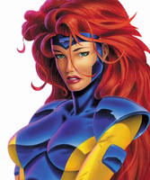 Jean Grey by joshtylen