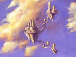 Castles in the Air II by inkwraith