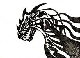 Dragon by KingOfLonelyCrowd